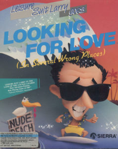 Leisure Suit Larry Goes Looking for Love DOS Box