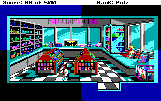 Leisure Suit Larry Goes Looking for Love - Inside Swabs Drugs