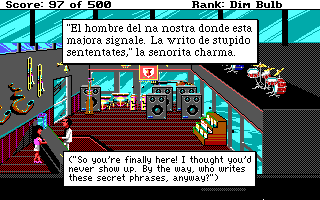 Leisure Suit Larry Goes Looking for Love - Music Store