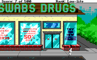 Leisure Suit Larry Goes Looking for Love - Swabs Drugs