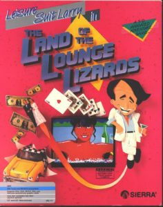 Leisure Suit Larry in the Land of the Lounge Lizards Box
