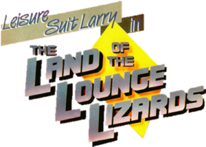 Leisure Suit Larry in the Land of the Lounge Lizards Logo