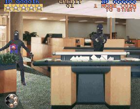 Lethal Enforcers Bank Robbers
