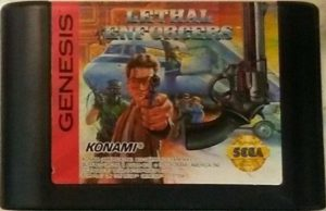 Lethal Enforcers Genesis Cartridge