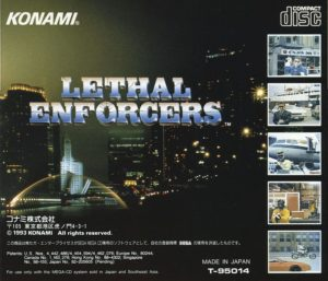 Lethal Enforcers Mega CD Box Back