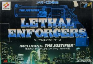 Lethal Enforcers Mega CD Complete Box