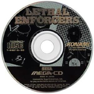Lethal Enforcers Mega CD Disc