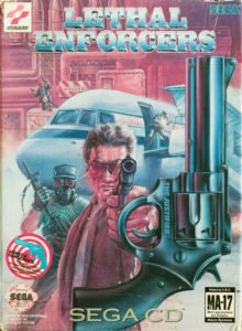 Lethal Enforcers Sega CD Box