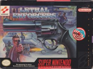 Lethal Enforcers Super Nintendo Box