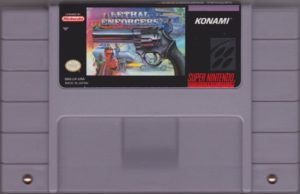 Lethal Enforcers Super Nintendo Cartridge