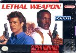 Lethal Weapon SNES Box