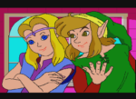 Link The Faces of Evil Link and Zelda