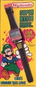 Luigi's Hammer Toss Game Watch