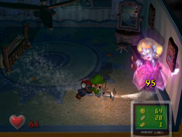 Luigi's Mansion - Catching a Ghost