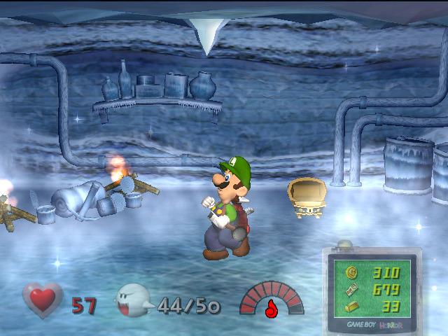 Luigi's Mansion - Frozen Room
