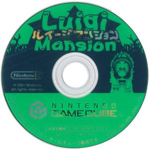 Luigi's Mansion Japanese Disc