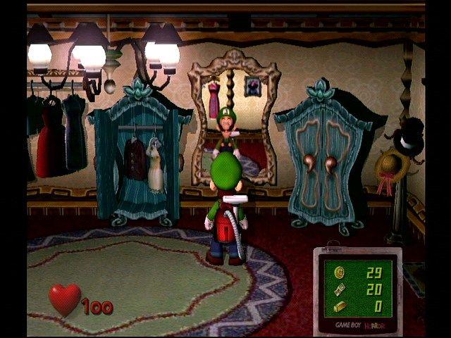 Luigi's Mansion - Mirror