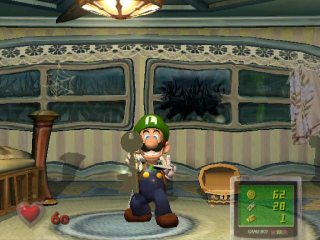 Luigi's Mansion - Obtained a Key