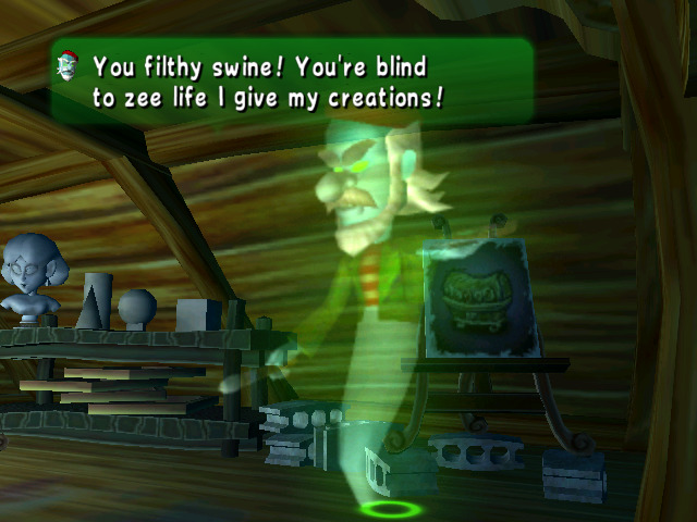 Luigi's Mansion - Painter Ghost