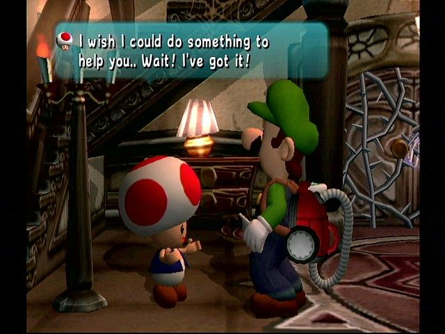 Luigi's Mansion - Toad