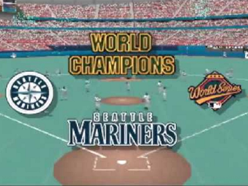 MLB Ken Griffey Jr World Champions