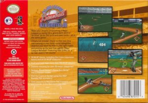MLB featuring Ken Griffey Jr Box Back