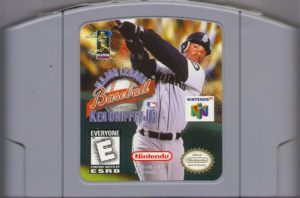 MLB featuring Ken Griffey Jr Cartridge