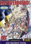 Man Overboard! Mega Drive Box