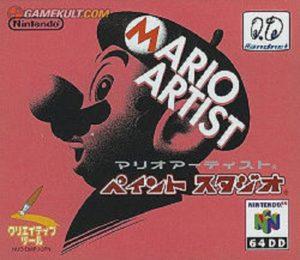 Mario Artist Paint Studio