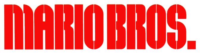 Mario Bros Logo