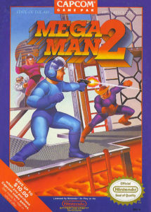 Mega Man 2 Box