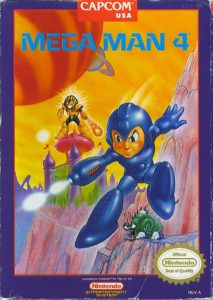 Mega Man 4 Box