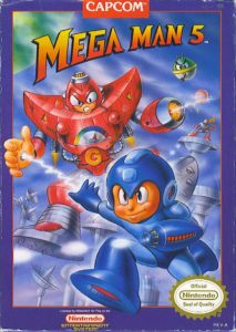 Mega Man 5 Box