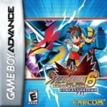 Mega Man Battle Network 6 Cybeast Falzar Box