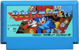 Mega Man Famicom Cartridge