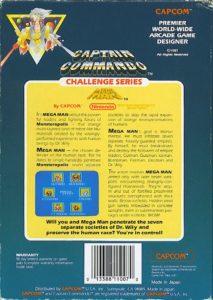 Mega Man NES Box Back