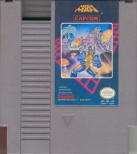 Mega Man NES Cartridge