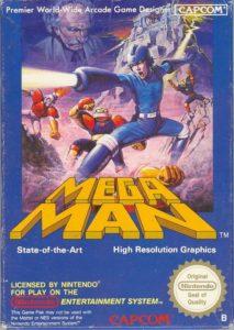 Mega Man NES EU Box