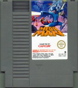 Mega Man NES EU Cartridge