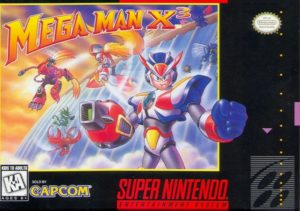 Mega Man X3 Box