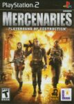 Mercenaries - Playground of Destruction PS2 Box