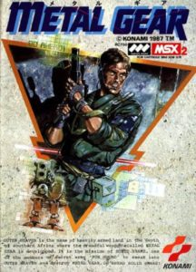Metal Gear MSX Box