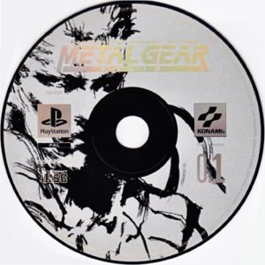 Metal Gear Solid EU Disc 1