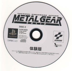 Metal Gear Solid Japanese Disc 2