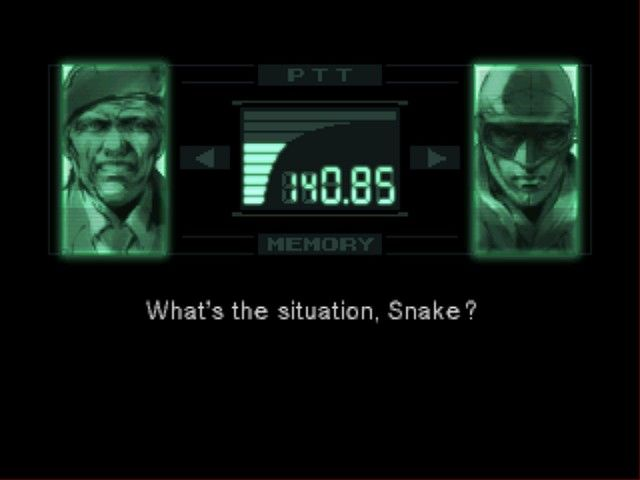Metal Gear Solid Screenshot 1