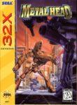 Metal Head Sega 32X Box