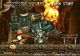 Metal Slug - Boss Battle