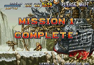 Metal Slug - Mission 1 Complete