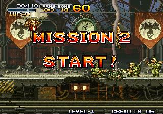 Metal Slug - Mission 2 Start