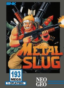 Metal Slug Neo Geo AES Box